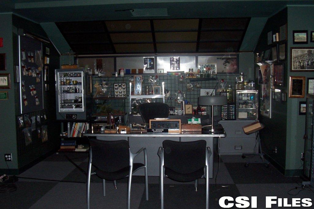 Csi Files Set Tour Csi Crime Scene Investigation
