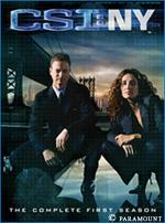 DVD - CSI : New York Nycoverart